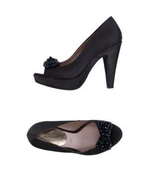 Туфли ALBERTO MORETTI. Цвет: черный
