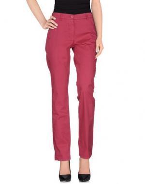 Повседневные брюки ALTEA dal 1973. Цвет: пурпурный