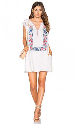Платье blake Tolani. Цвет: белый