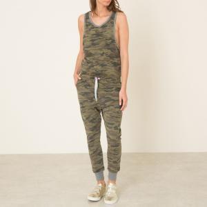 Комбинезон с брюками JUMP LOUNGE PRINT SWEET PANTS. Цвет: камуфляж