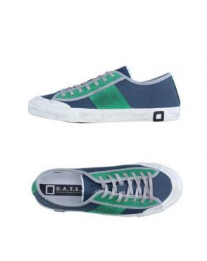 Низкие кеды и кроссовки D.A.T.E.. Цвет: темно-синий