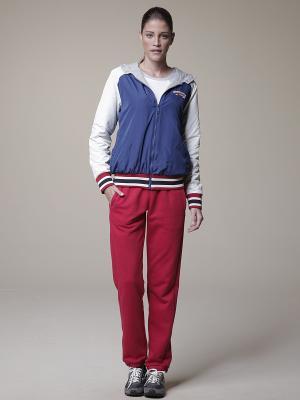 Спортивный костюм тройка RELAX MODE. Цвет: красный