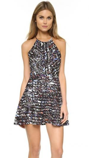 Платье Zulma Parker. Цвет: синий