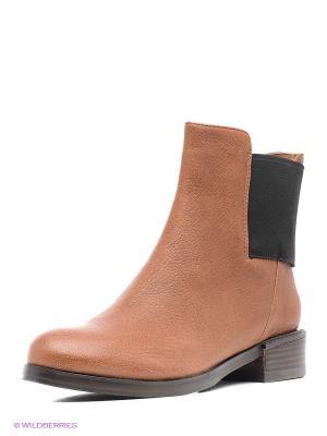 Ботинки Clarks. Цвет: коричневый