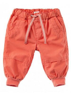 Брюки United Colors of Benetton. Цвет: коралловый, оранжевый, бронзовый