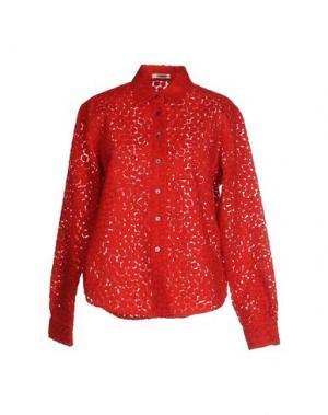 Pубашка JOURDEN. Цвет: красный
