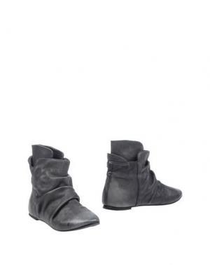 Полусапоги и высокие ботинки KUDETÀ. Цвет: свинцово-серый