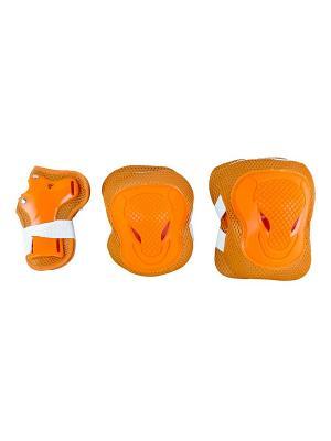 Роликовая защита MELODY MAXCITY. Цвет: оранжевый