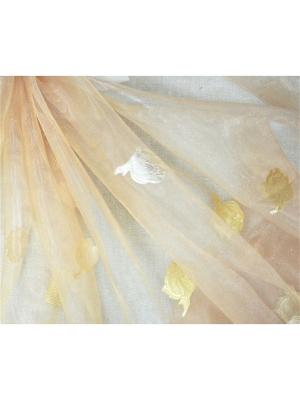 Органза Бутон пудра 300х270 T&I. Цвет: бледно-розовый