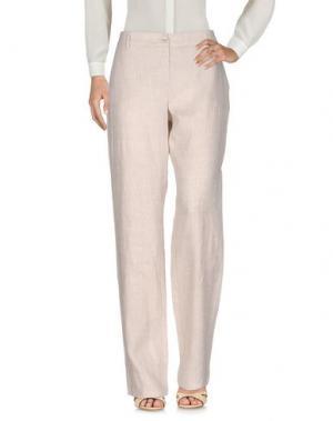 Повседневные брюки CRISTINA ROCCA. Цвет: бежевый