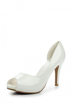 Туфли Style Shoes. Цвет: белый