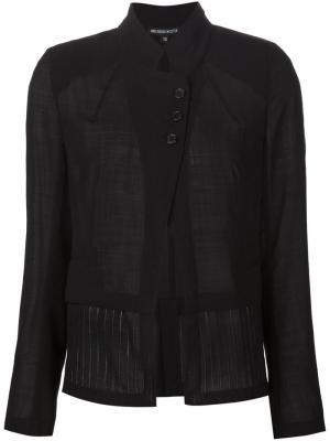 Многослойный пиджак Ann Demeulemeester. Цвет: чёрный
