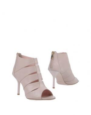 Полусапоги и высокие ботинки FESTA Milano. Цвет: светло-розовый
