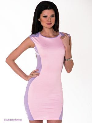 Платье Ibby Libby. Цвет: розовый, сиреневый