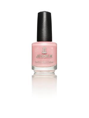 Лак для ногтей  #409 Tea Rose, 14,8 мл JESSICA. Цвет: бледно-розовый