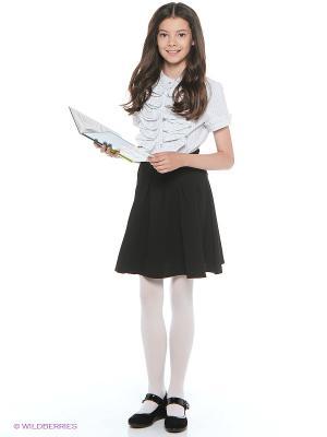 Блузка Nota Bene. Цвет: светло-серый
