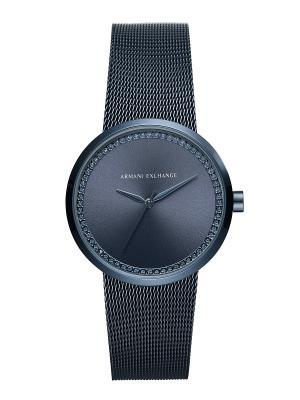 Часы Armani Exchange. Цвет: темно-синий