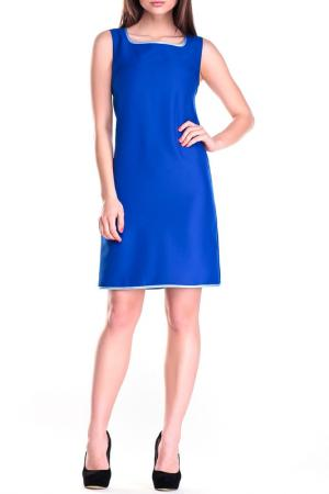 Платье-сарафан REBECCA TATTI. Цвет: электрик