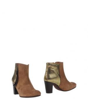 Полусапоги и высокие ботинки LOLLIPOPS. Цвет: верблюжий