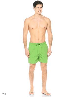 Бордшорты Colin's. Цвет: зеленый
