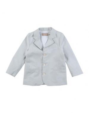 Пиджак LA STUPENDERIA. Цвет: серый