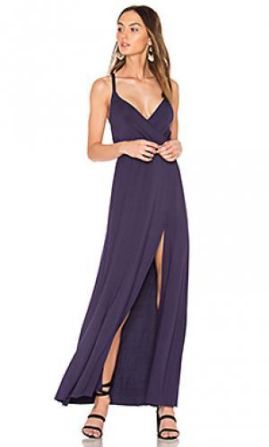Платье с вырезами Rachel Pally. Цвет: синий