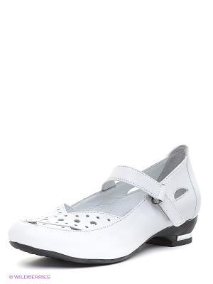 Туфли METROPOLPOLIS. Цвет: белый