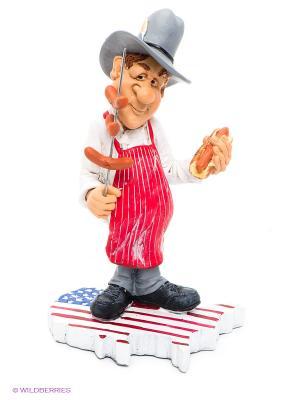 Фигурка Шеф-повар США The Comical World of Stratford. Цвет: красный, белый, черный, серый