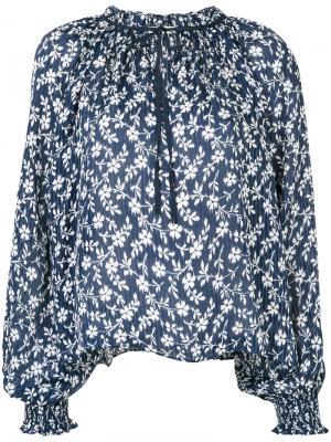 Floral embroidered blouse Ulla Johnson. Цвет: синий
