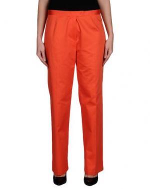 Повседневные брюки EMISPHERE. Цвет: оранжевый