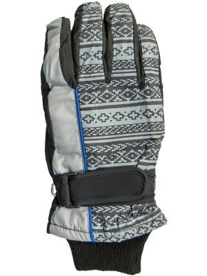 Перчатки YO!. Цвет: серый