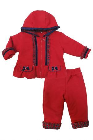 Комплект утепленный SONI KIDS. Цвет: красный