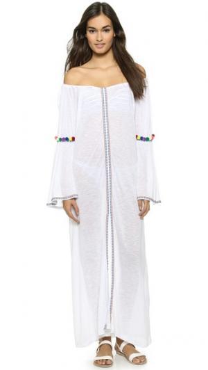 Макси-платье Gypsy Pitusa. Цвет: белый