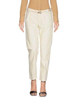 Повседневные брюки FRANKLIN & MARSHALL. Цвет: слоновая кость