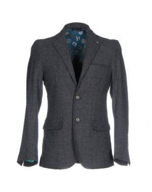 Пиджак DIMATTIA. Цвет: стальной серый
