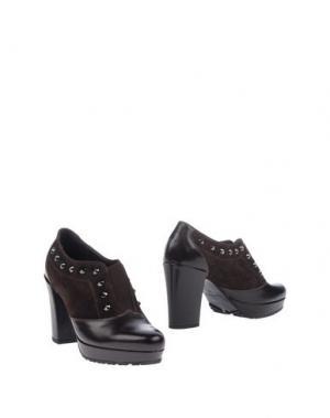Ботинки HÉCOS. Цвет: темно-коричневый