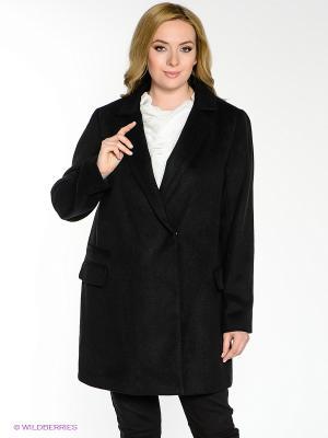Пальто New Look. Цвет: черный, серебристый