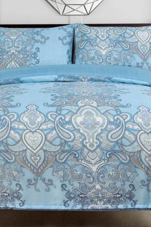 Постельное белье Дуэт, 70x70 СIOCCOLATO. Цвет: голубой