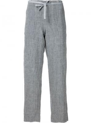 Укороченные брюки Dosa. Цвет: серый