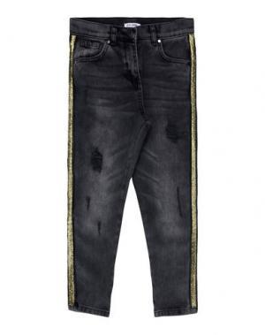 Джинсовые брюки SO TWEE by MISS GRANT. Цвет: черный
