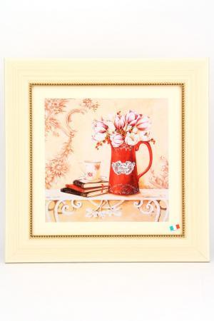 ПостерТюльпаны в вазе F.A.L. Цвет: мультицвет