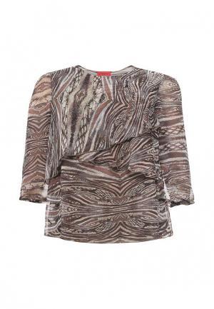 Блуза O`Queen. Цвет: коричневый