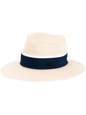 Шляпа Henrietta Maison Michel. Цвет: телесный