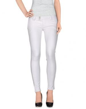 Повседневные брюки JCOLOR. Цвет: белый