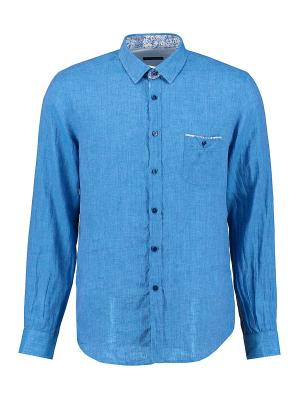 Рубашка Florentino. Цвет: синий