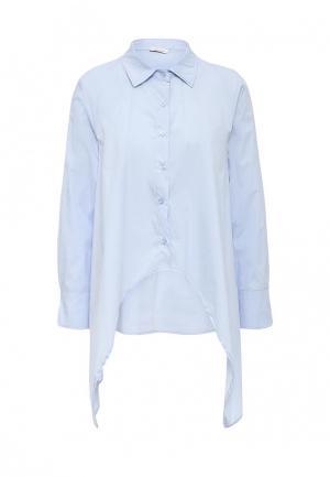 Рубашка Aurora Firenze. Цвет: голубой