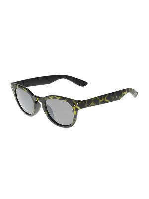 Солнцезащитные очки Gusachi. Цвет: желтый, черный, серый