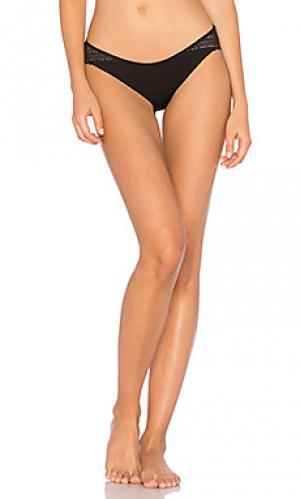 Трусики бикини bohemienne MAISON LEJABY. Цвет: черный