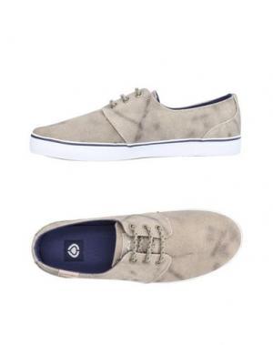 Низкие кеды и кроссовки C1RCA. Цвет: песочный