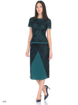 Блузка Isabel Garcia. Цвет: темно-зеленый